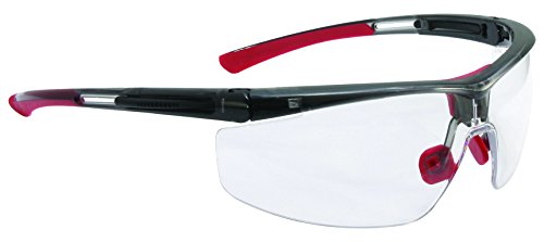 UVEX by Honeywell T5900WTK North Adaptec Blue/Gray Frame, Wide Size Clear Lens