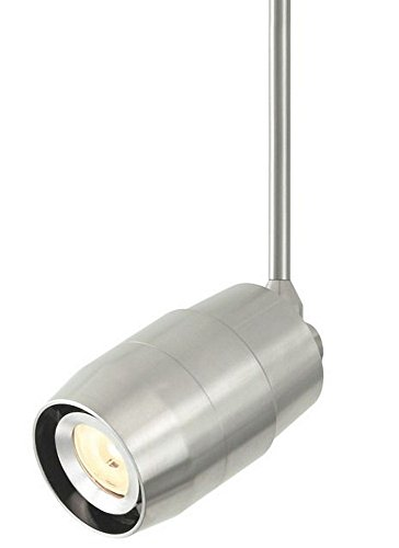 Contemporary Monorail Head (Tech Lighting 700TTENVLL2406W Envision - LED Single-Circuit T-Trak Head, Choose Finish: WH: White, Choose Lamping Option: L2-4: LED 2700K with 40 Degree Beam Spread)