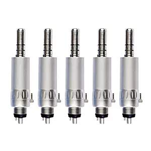 Low Speed Contra Angle Handtool Push-button Durable 3 Pcs