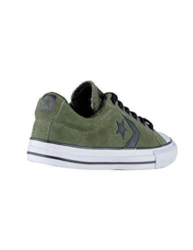 Converse Star Player OX Herbal/White/Black, Zapatillas Unisex Niños Verde