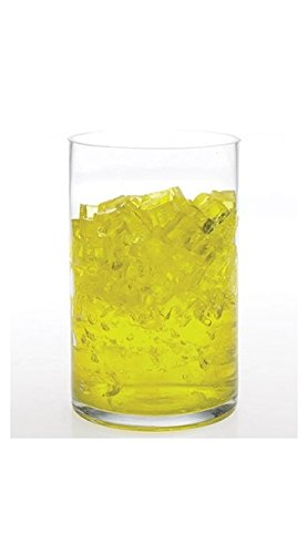 Amazon Colorful Vase Filler Water Cubes Yellow Home Kitchen