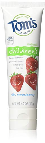 Toms of Maine 4.2 oz. Silly Strawberry Natural Childrens Anticavity Toothpaste