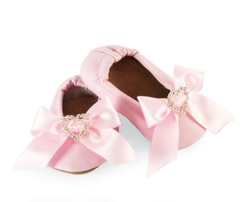 Mud Pie Baby-Girls Newborn Satin Bow Shoe Socks