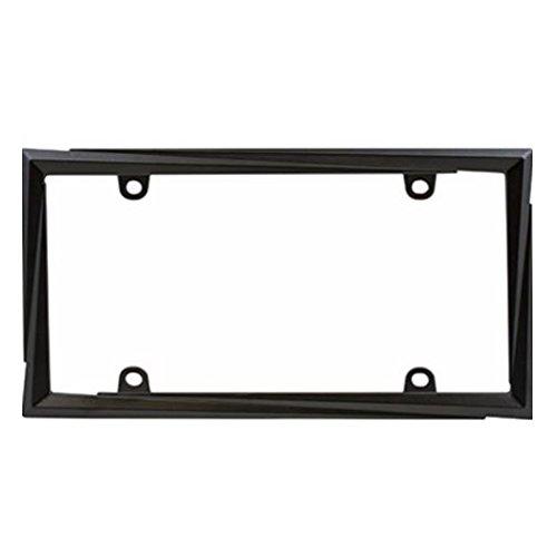 Custom Frames 92866 Matte Black Hot Rodder License Plate Frame