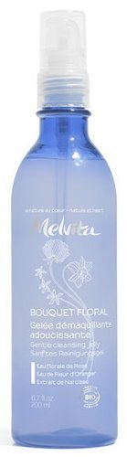 Beautiful cosmetics Melvita Flower Bouquet Cleansing & Wash Jelly 200 ml Parallel Import Goods, Clear ()