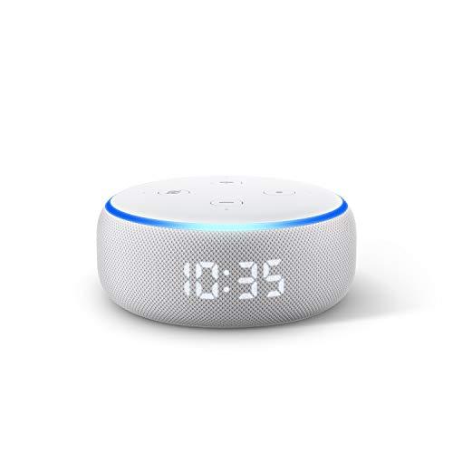 Echo Dot 3rd Gen  Smart speaker with clock and Alexa  Sandstone
