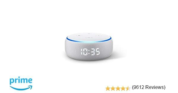 Nuevo Echo Dot (3.ª generación) - Altavoz inteligente con ...
