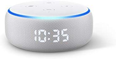 Sparen Sie 35 € auf Echo Dot mit Uhr