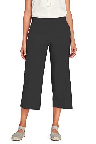 Regna X Pregnancy Crop Wide Capri Ankle Dress Pants for Women Plus Size Grey XL
