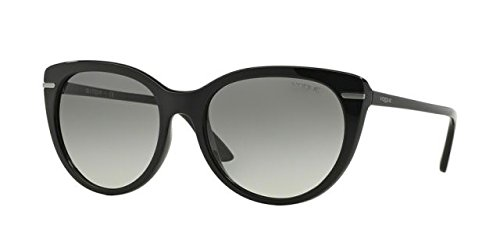 Vogue VO2941S W44/11 Black VO2941S Cats Eyes Sunglasses Lens Category 2 Size - Vogue Glasses Prices Frames