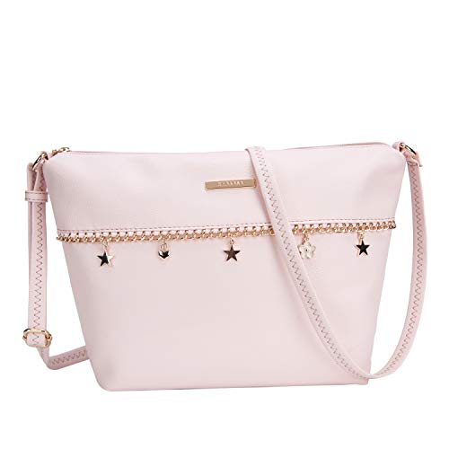 Caprese Spring-Summer 21 CF Women's Sling Bag (Blush)