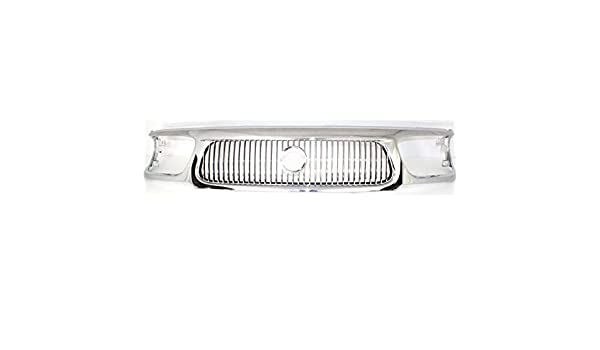 New FO1200369 Grille for Mercury Mountaineer 1998-2001