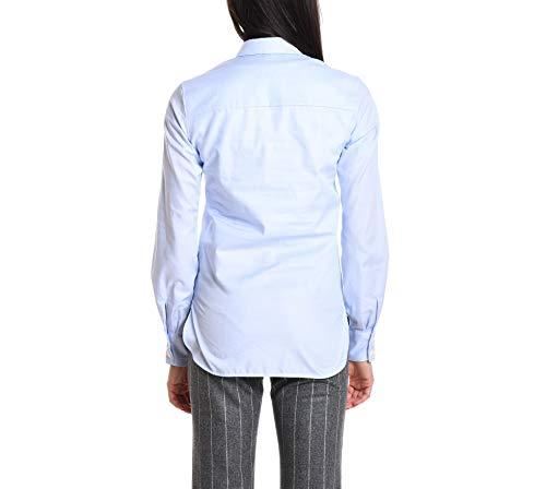 Donna Eleventy Azzurro Cotone 980ca0100cam2605208 Camicia 1xzwOqF