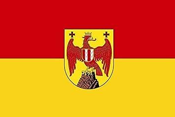 U24 Aufkleber Burgenland Flagge Fahne 8 X 5 Cm Autoaufkleber Sticker Auto