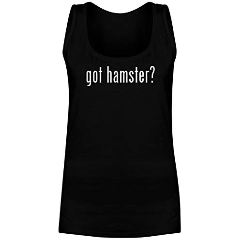 The Town Butler got Hamster? - A Soft & Comfortable Women's Tank Top, Black, X-Large