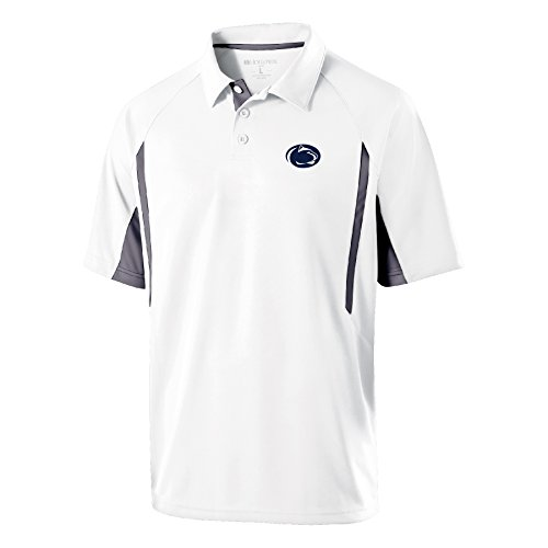 Ouray Sportswear NCAA Penn State Nittany Lions Men's Avenger Polo Shirts, X-Large, White/Graphite ()