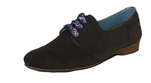 Verde Cordones Dorking Piel Vuelta Zapatos Mujer De rZqEqYwf
