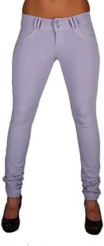 U-Turn Style 1129 Butt Lift Brazilian Style Skinny Leg Fashion Poly Cotton Moleton