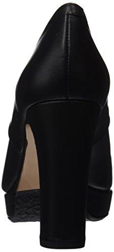 Donna Negro col con Nero Negro Scarpe Plateau Audley 20125 Tacco 8qOYYw