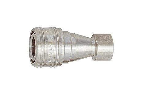El sistema hidráulico de embrague, placa de acero inoxidable 1.4305, rosca interior G 1/2 RI-246, 14: Amazon.es: Bricolaje y herramientas