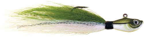 Spro Bucktail Jig-Pack of 1, Sand Eel Green, (Sand Eel Green)