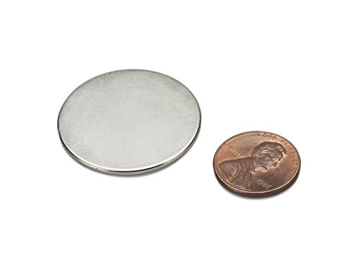 Thin round disc magnets strong neodymium n45 x 0 for Thin magnets for crafts