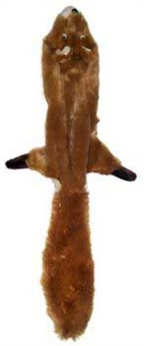 Ethical Mini Skinneeez Squirrel 14-Inch Stuffingless Dog Toy, My Pet Supplies