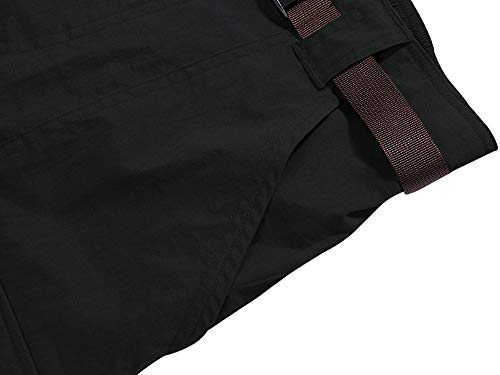Womens Outdoor Lightweight Quick Dry Casual Breathable Soft Work Hiking Shorts,2105,Black,30