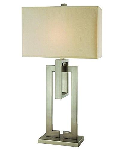 Trend Lighting Precision Table Lamp, Brushed Nickel (Trend Table Lamp Nickel)