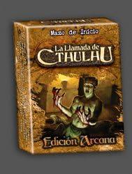 LA LLAMADA DE CTHULHU JCC EDICION ARCANA MAZO DE INICIO: Amazon.es: Juguetes y juegos