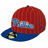 af4f061502bb3 BONE 5950 PHILADELPHIA PHILLIES MLB ABA RETA VERMELHO NEW ERA