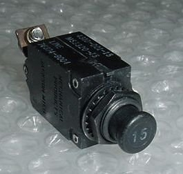 MS3320-15, 4310-001-15, 15A Slim Aircraft Circuit ()