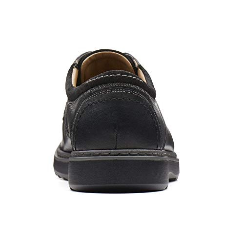 Clarks 5 Wide Casual Un 5 Lace Mens Negro 42 Fit Eu 8 Uk Shoes Geo pzgrxnTp