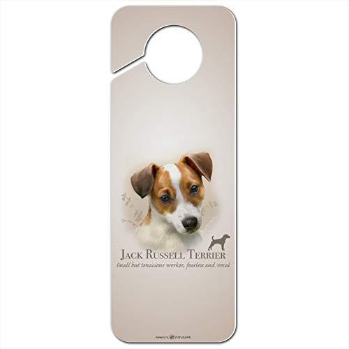 GRAPHICS & MORE Jack Russell Terrier Dog Breed Plastic Door Knob Hanger Sign - Image