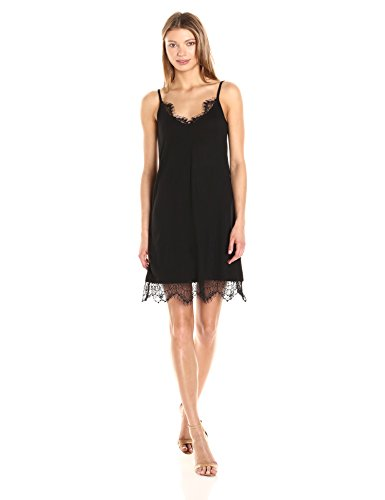 Swift Connection Black Dress Black Drape Women's French 7R8wqTa