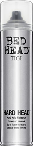 Bed Head Hard Head Spray TIGI Hair Spray Unisex 10 oz (Pack of 7) by TIGI Cosmetics