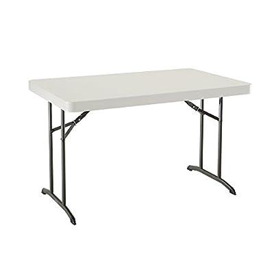 "Lifetime 80568 48"" x 30"" Wide Folding Utility Table"