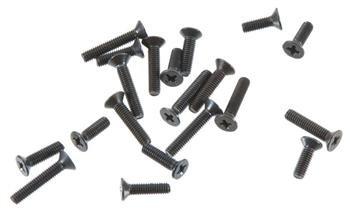 DuraTrax Flat Head Machine Screw 2.6mm (20)