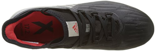Noir Fg Adidas Metallic Chaussures Black Red X Core Platin Femme core De Football Yw1H5w