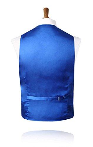 Gilet Doupion Bleu Roi-46