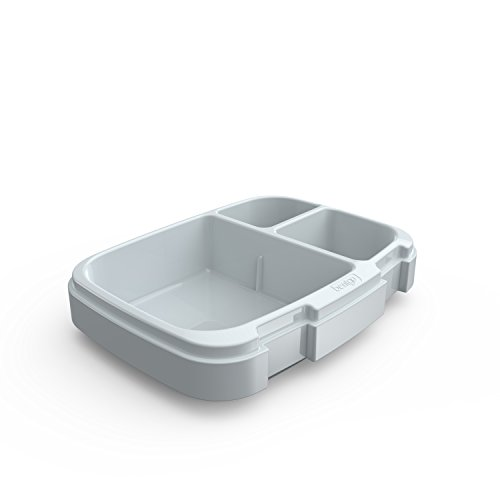 Bentgo Fresh 3-Compartment Replacement Tray with Divider Insert (Gray)