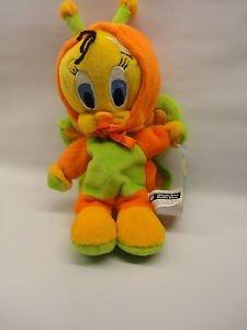 - Looney Tunes Tweety Bird Orange Butterfly Bean Bag Toy