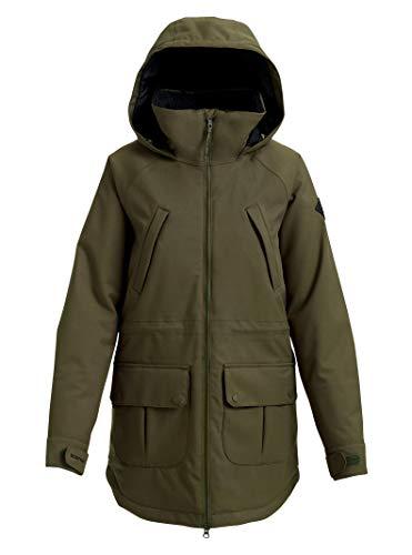 Burton Women's Prowess Jacket, Forest Night, - Taffeta Pouch