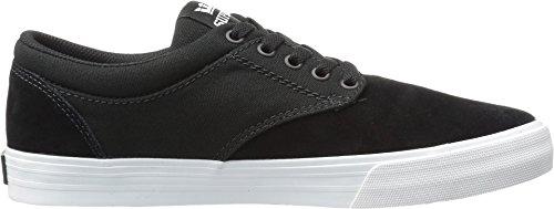 Supra Heren Chino Zwart Suède / Witte Sneaker Heren 11 D (m)