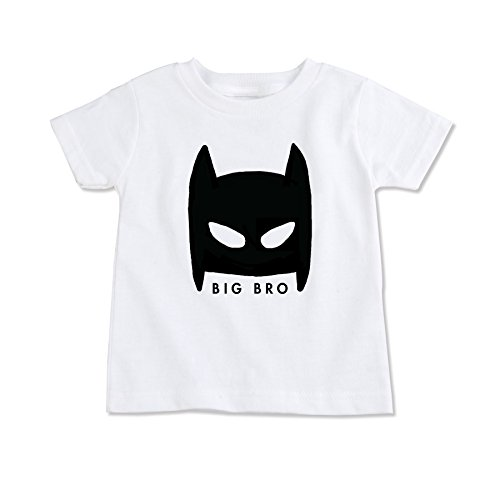 Masked Superhero Big Brother Little Brother Shirt (Big Bro 4T) 2017