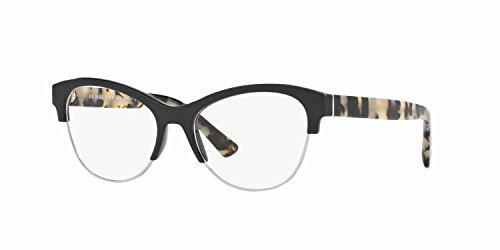 Burberry Women's BE2235 Eyeglasses Black 53mm & Cleaning Kit Bundle