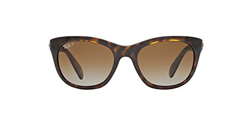 d531fca4625 Amazon.com  Ray-Ban Highstreet RB4216 - 710 T5 Sunglasses Tortoise w   Polarized Brown Gradient 56mm   Sports   Outdoors