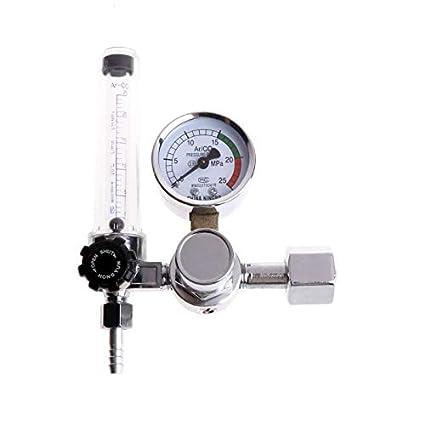 Flowmeter Oxygen - Metal Welding Gas Argon Co2 Pressure Flow Meter Regulator Mig Tig Mag Weld