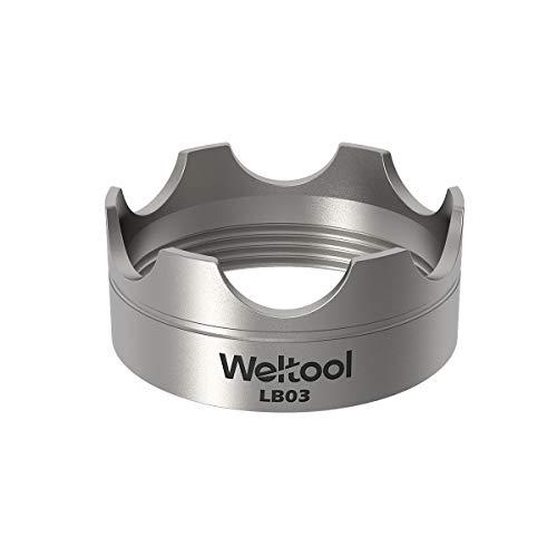 - Weltool Maglite Flashlight Strike Bezel Upgrade - 304 Stainless Steel for Maglite C or D cell flashlights - LB03 Model for Maglite Glass Breaker