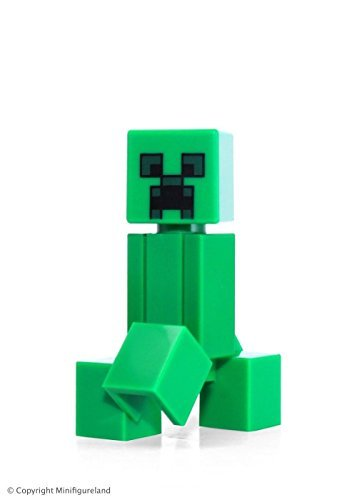 LEGO Minecraft - The Creeper Minifigure from set 21115